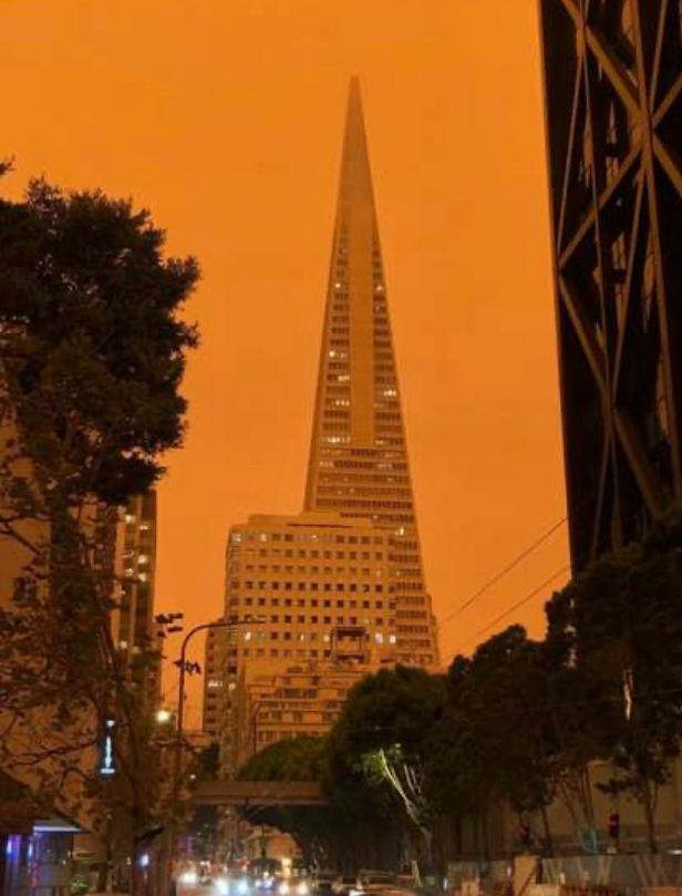 San Francisco - Smoke from Fires
